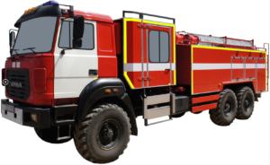 Автоцистерна пожарная АЦ 8,0-40 (Урал 4320-80) 2к
