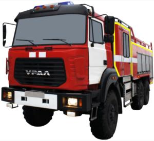 Автоцистерна пожарная АЦ 6,0-40 (Урал 4320-81) 2к