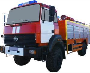 Автоцистерна пожарная АЦ 4,0-40 (Урал 43206-79) 1к