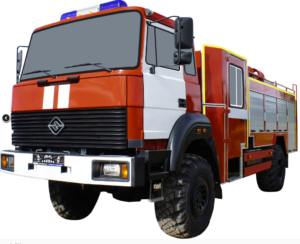 Автоцистерна пожарная АЦ 3,0-40 (Урал 43206-79) 2к
