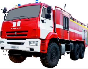 Автоцистерна пожарная АЦ 8,0-70 (Камаз 43118) 2к