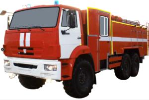 Автоцистерна пожарная АЦ 8,0-40 (Камаз 43118) 2к