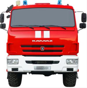 Автоцистерна пожарная АЦ 8,0-40 (Камаз 43118) 1к