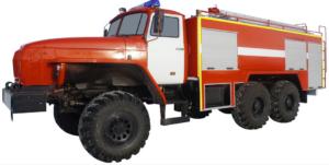 Автоцистерна пожарная АЦ 6,0-40 (Урал 5557) 1к