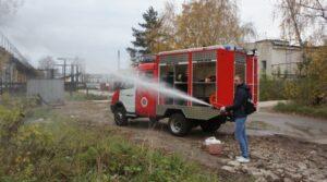Пожарный автомобиль первой помощи «АПП»